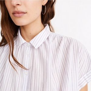 Madewell Central Shirt in Lavender
